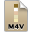 Adobe Soundbooth M4V Icon 32x32 png