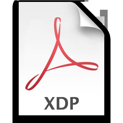 Adobe Acrobat 8 XDP Icon 512x512 png