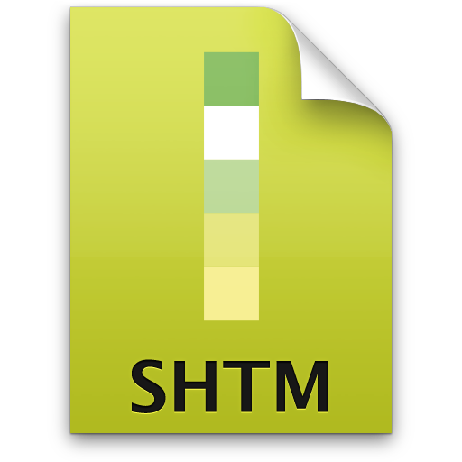 Adobe Dreamweaver SHTM Icon 512x512 png