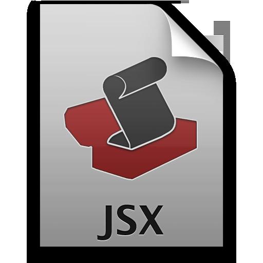 Adobe ExtendScript Toolkit JSX Icon 512x512 png