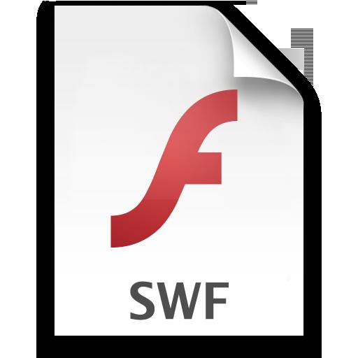 Adobe Flash Player SWF Icon 512x512 png