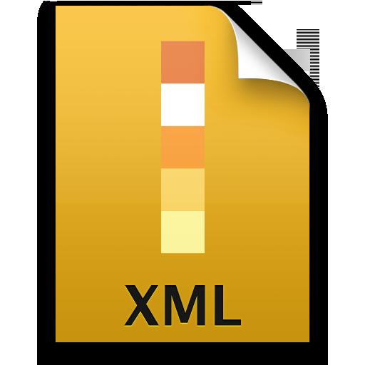 Adobe Illustrator XML Icon 512x512 png