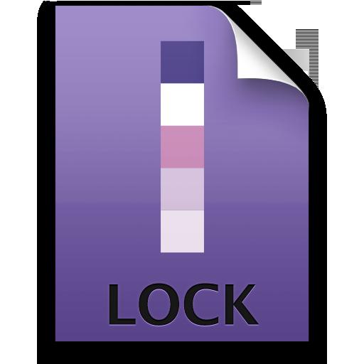 Adobe InCopy Lock Icon 512x512 png