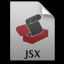 Adobe ExtendScript Toolkit JSX Icon 64x64 png