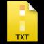Adobe Fireworks TXT Icon 64x64 png