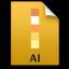 Adobe Illustrator File Icon 64x64 png