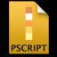 Adobe Illustrator Postscript Icon 64x64 png