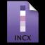 Adobe InCopy File Icon 64x64 png