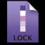 Adobe InCopy Lock Icon 64x64 png