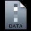 Adobe Lightroom DATA Icon 64x64 png