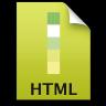 Adobe Dreamweaver HTML Icon 96x96 png