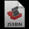 Adobe ExtendScript Toolkit JSXBIN Icon 96x96 png
