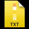 Adobe Fireworks TXT Icon 96x96 png