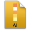 Adobe Illustrator File Icon 96x96 png