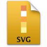Adobe Illustrator SVG Icon 96x96 png