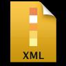 Adobe Illustrator XML Icon 96x96 png