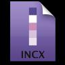 Adobe InCopy File Icon 96x96 png