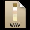 Adobe Soundbooth WAV Icon 96x96 png