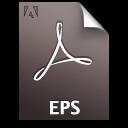 Adobe Distiller EPS Icon