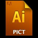 Adobe Illustrator PICT Icon
