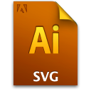 Adobe Illustrator SVG Icon