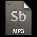 Adobe Soundbooth MP3 Icon