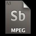 Adobe Soundbooth MPEG Icon