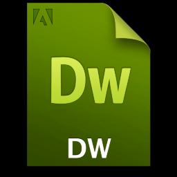 Adobe Dreamweaver File Icon 256x256 png