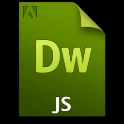 Adobe Dreamweaver JS Icon 256x256 png
