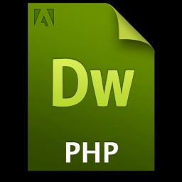 Adobe Dreamweaver PHP Icon 256x256 png