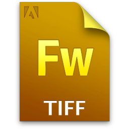 Adobe Fireworks TIF Icon 256x256 png