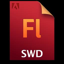 Adobe Flash SWD Icon 256x256 png