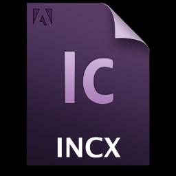 Adobe InCopy INCX Icon 256x256 png