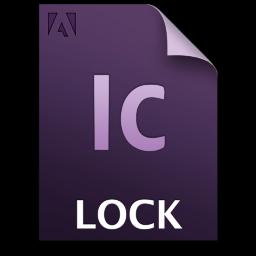 Adobe InCopy Lock Icon 256x256 png