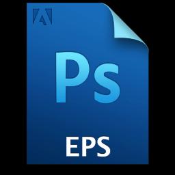 Adobe Photoshop EPS Icon 256x256 png