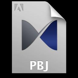 Adobe Pixel Bender Toolkit PBJ Icon 256x256 png