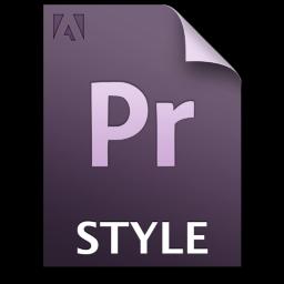 Adobe Premiere Pro STYLE Icon 256x256 png
