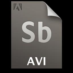Adobe Soundbooth AVI Icon 256x256 png