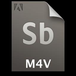 Adobe Soundbooth M4V Icon 256x256 png