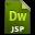 Adobe Dreamweaver JSP Icon 32x32 png