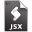 Adobe ExtendScript Toolkit JSX Icon 32x32 png