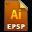 Adobe Illustrator EPSPC Icon 32x32 png