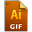 Adobe Illustrator GIF Icon 32x32 png
