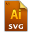 Adobe Illustrator SVG Icon 32x32 png