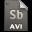Adobe Soundbooth AVI Icon 32x32 png