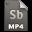 Adobe Soundbooth MP4 Icon 32x32 png