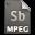 Adobe Soundbooth MPEG Icon 32x32 png