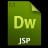 Adobe Dreamweaver JSP Icon 48x48 png