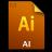 Adobe Illustrator File Icon 48x48 png