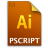 Adobe Illustrator Postscript Icon